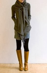 Women's Fashion Love the coat & scarf combo. Perfect for cold climates