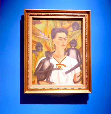 Un'immagine della mostra di Frida Kahlo, Diego Rivera e artisti messicani a Bologna, ph@sarabonfili