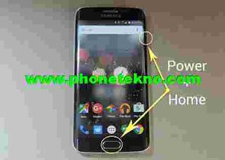 Cara Screenshot Samsung Galaxy S7 dan S7 Edge