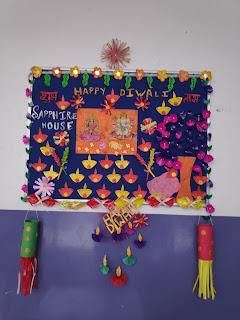 Diwali school decoration ideas