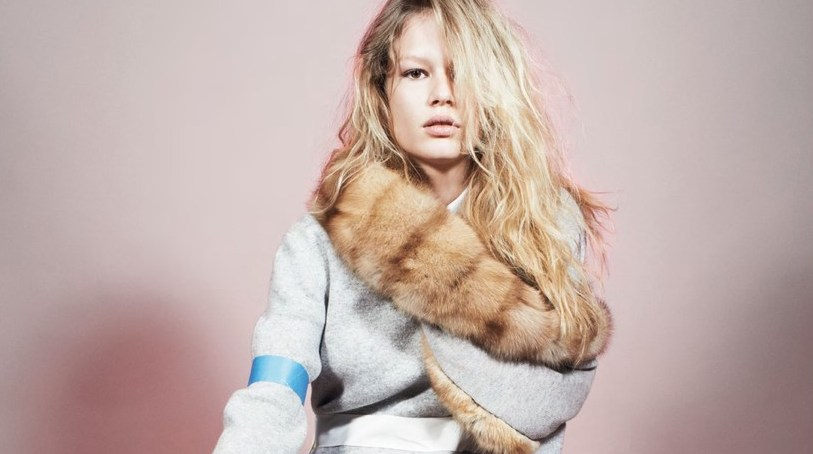 anna ewers and kirsty hume by glen luchford for self service spring/summer 2014