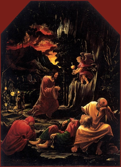 Albrecht Altendorfer: Christ in Gethsemane