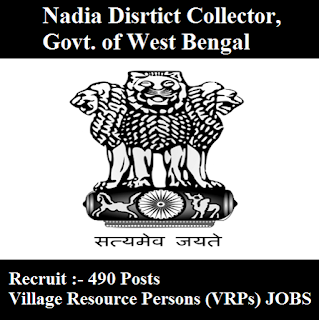 Nadia Disrtict Collector, Govt. of West Bengal, freejobalert, Sarkari Naukri, Nadia Disrtict Collector Answer Key, Answer Key, nadia district collector logo