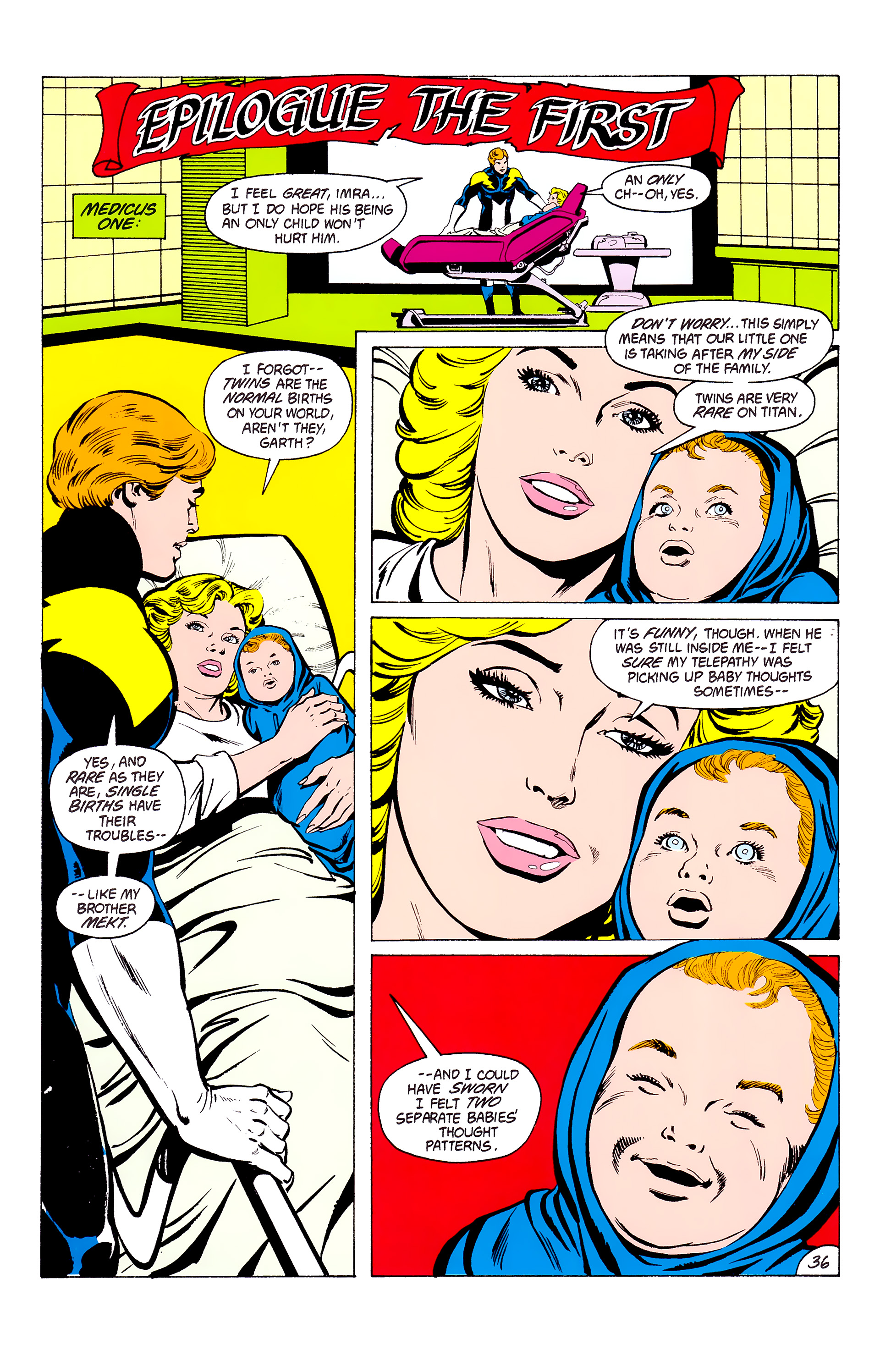 Legion of Super-Heroes (1980) _Annual_3 Page 36