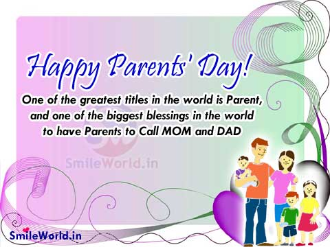 #10 Happy Parents Day SMS 2016 - Top Best Parents Day SMS