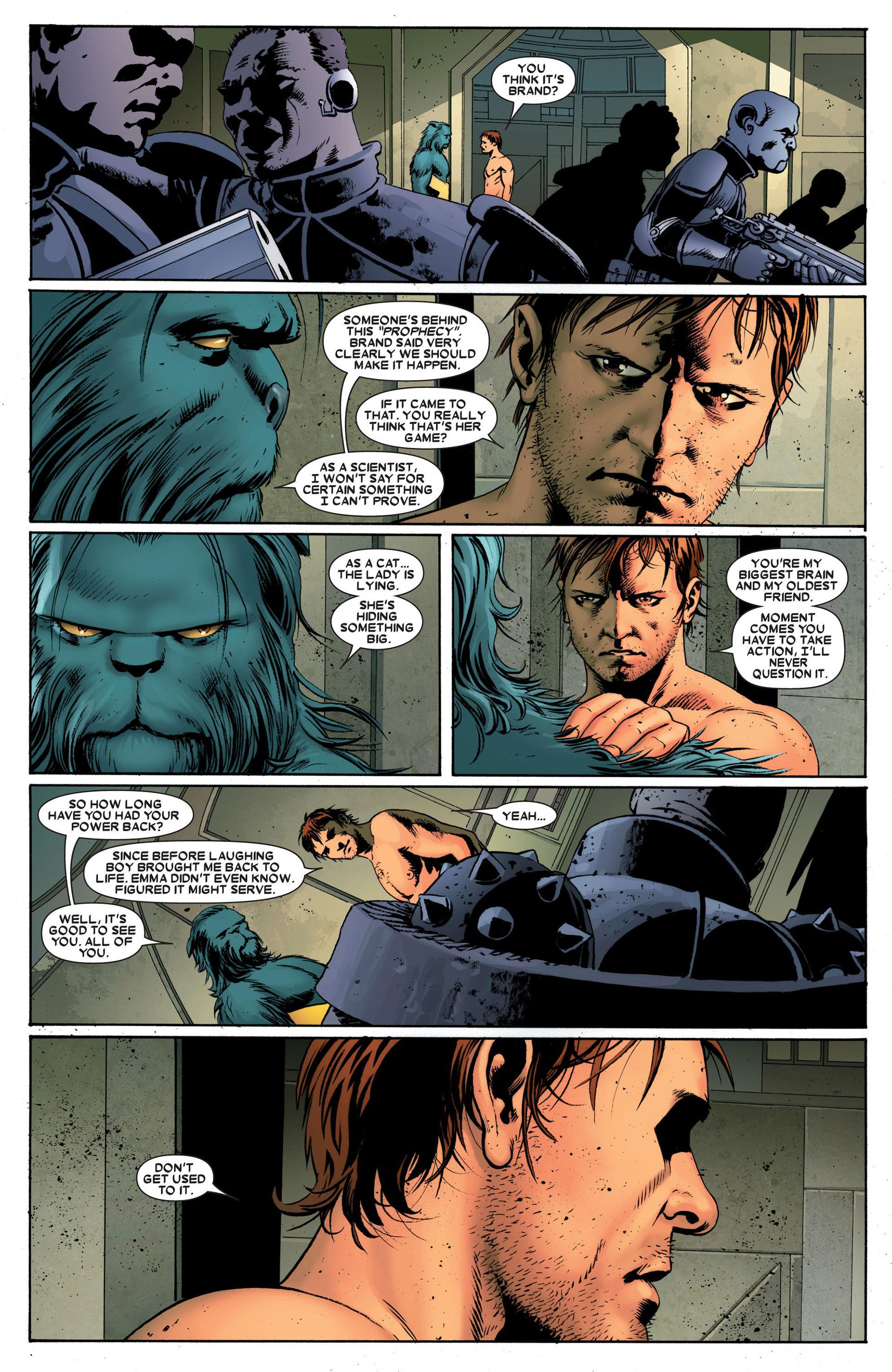Read online Astonishing X-Men (2004) comic -  Issue #24 - 5