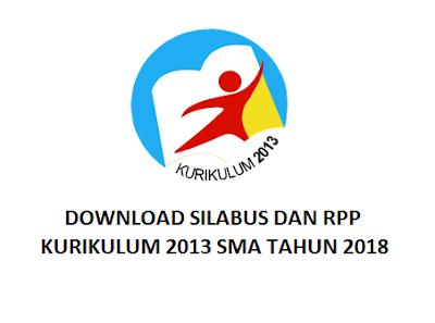 DOWNLOAD SILABUS DAN RPP KURIKULUM 2013 SMA TAHUN 2018