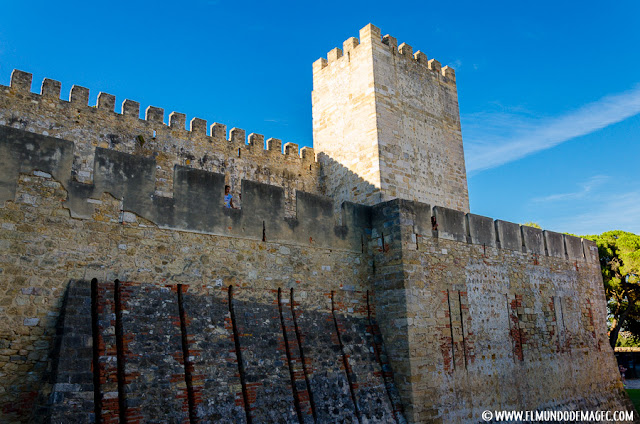 Castillos-de-Portugal, murallas del Castillo de San Jorge