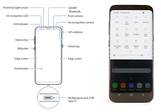 Galaxy S8 Settings Bluetooth