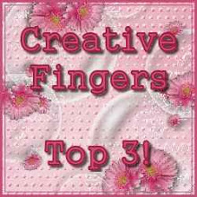 I Won a Top 3 at Creative Fingers