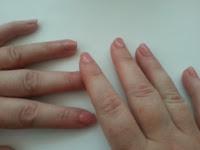 Nails with Pink Polish