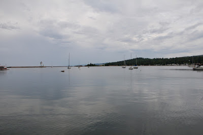 Grand Marais Harbor on Lake Superior