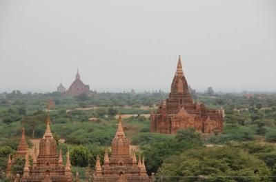 Bagan Temple dan pagoda, Myanmar