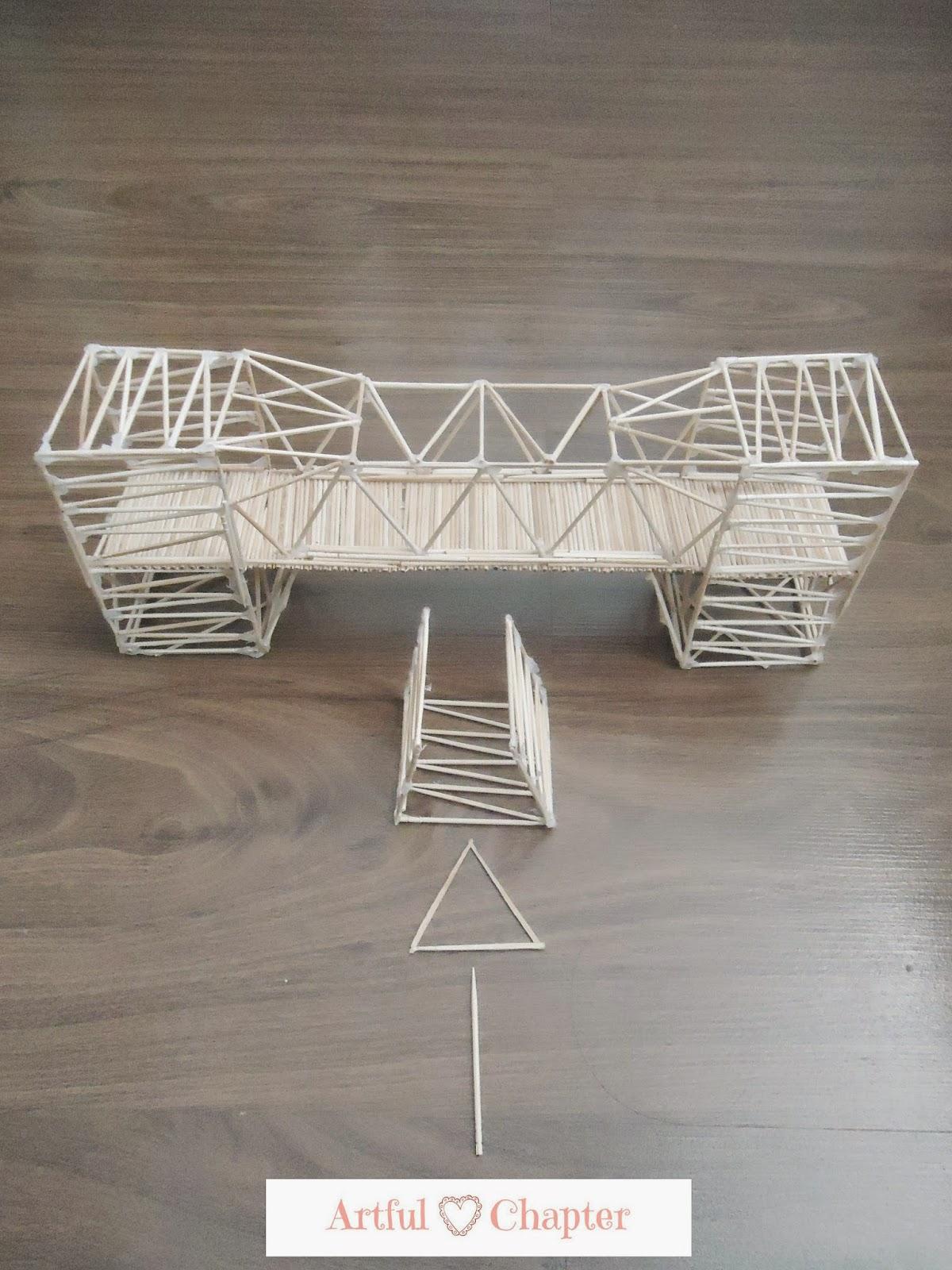 Toothpick Bridge Project Artful Chapter