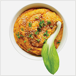 Sesame Miso Sweet Potato Dip