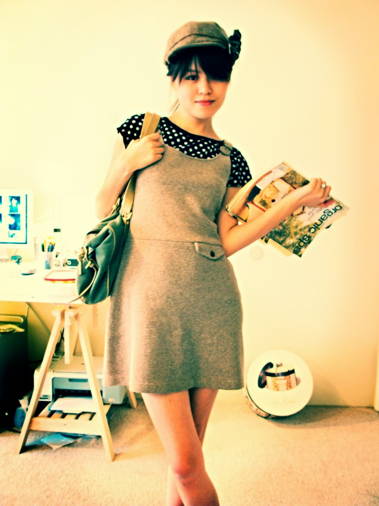 Vintage Outfit with Purse