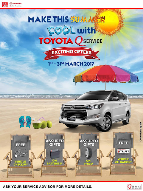 "Toyota launches ""Summer Service Campaign"" in South India"