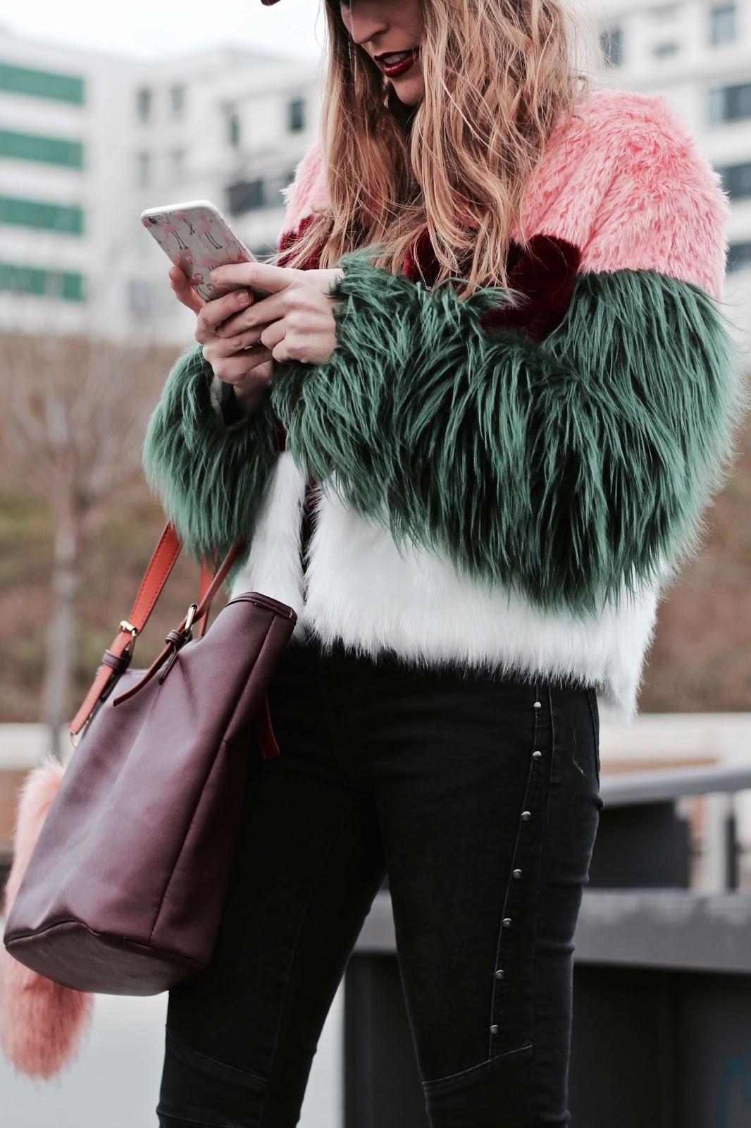 abrigo pelo colores