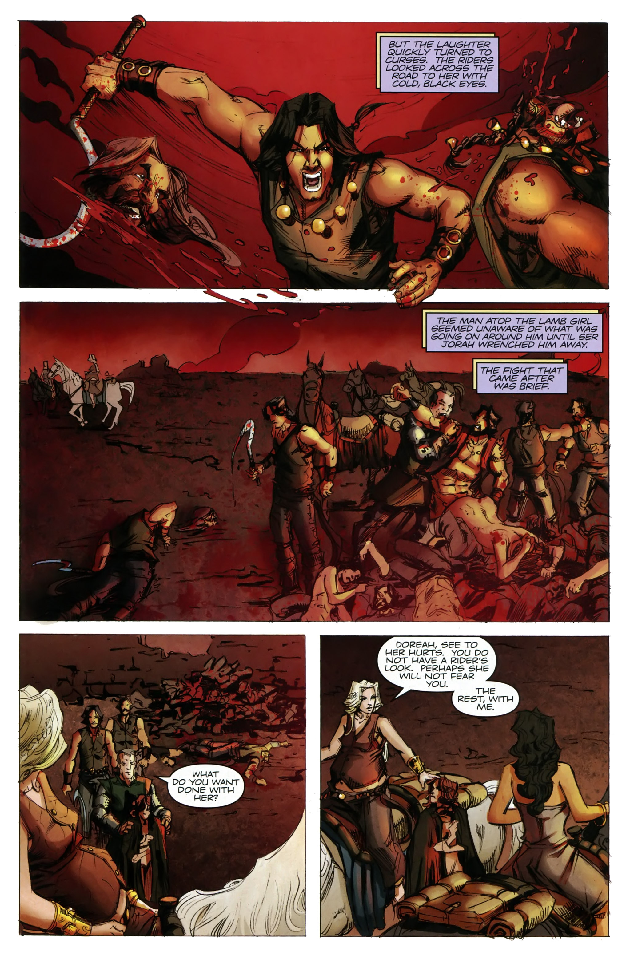 Read online A Game Of Thrones comic -  Issue #20 - 9