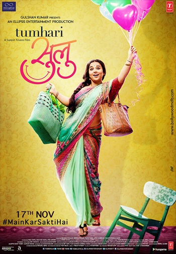 Tumhari Sulu 2017 Hindi 720p DVDRip 1.1GB