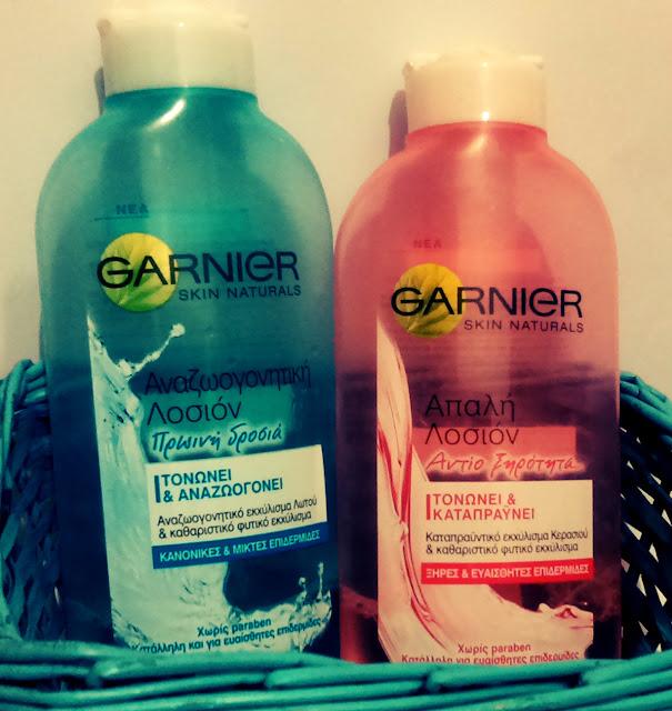 Garnier Skin Naturals Λοσιόν καθαρισμού
