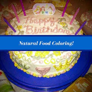 Natural Food Coloring for Frosting