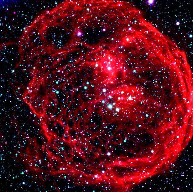 N70 in the Large Magellanic Cloud Galaxy