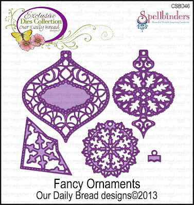 Our Daily Bread Designs Custom Fancy Ornaments Die