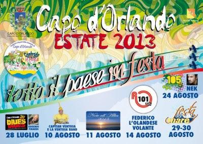 Prossimi eventi estivi a Capo d'Orlando