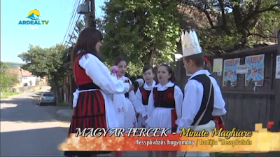 """Magyar Percek – Tradiția """"Hesspávázás"""" / Hesspávázás hagyomány"""