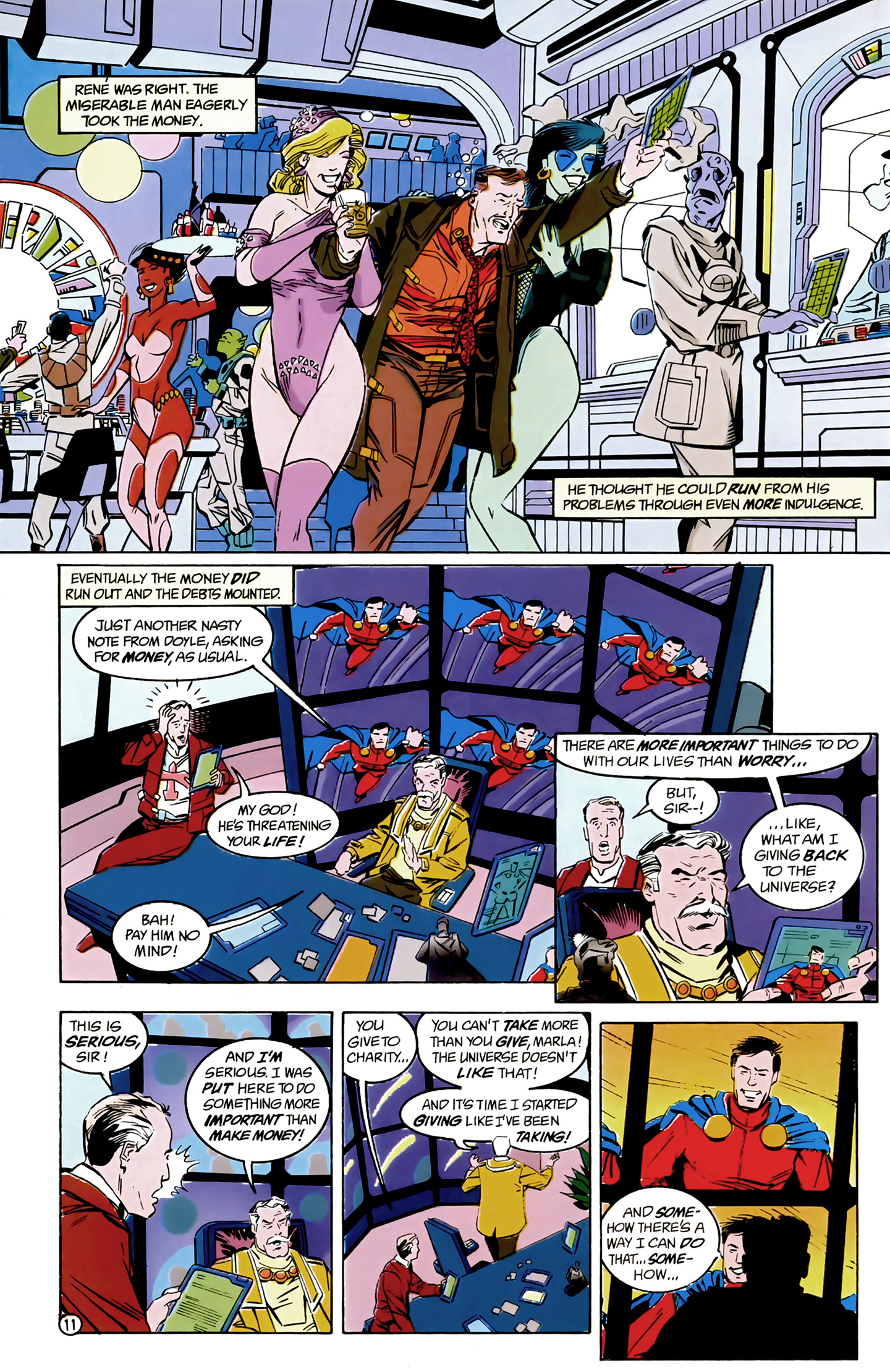 Legion of Super-Heroes (1989) 8 Page 11