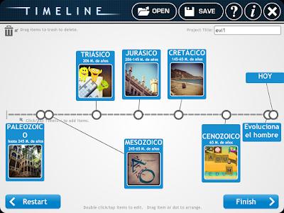 Aplicación crear línea de tiempo Timeline fácil