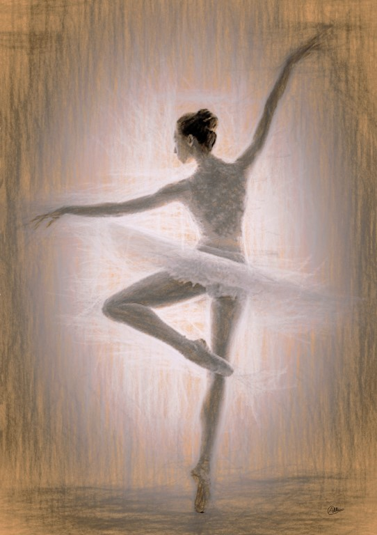 Best Dibujos De Ballet A Lapiz Image Collection