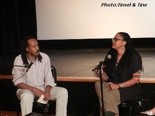 Louis Massiah and Ava DuVernay
