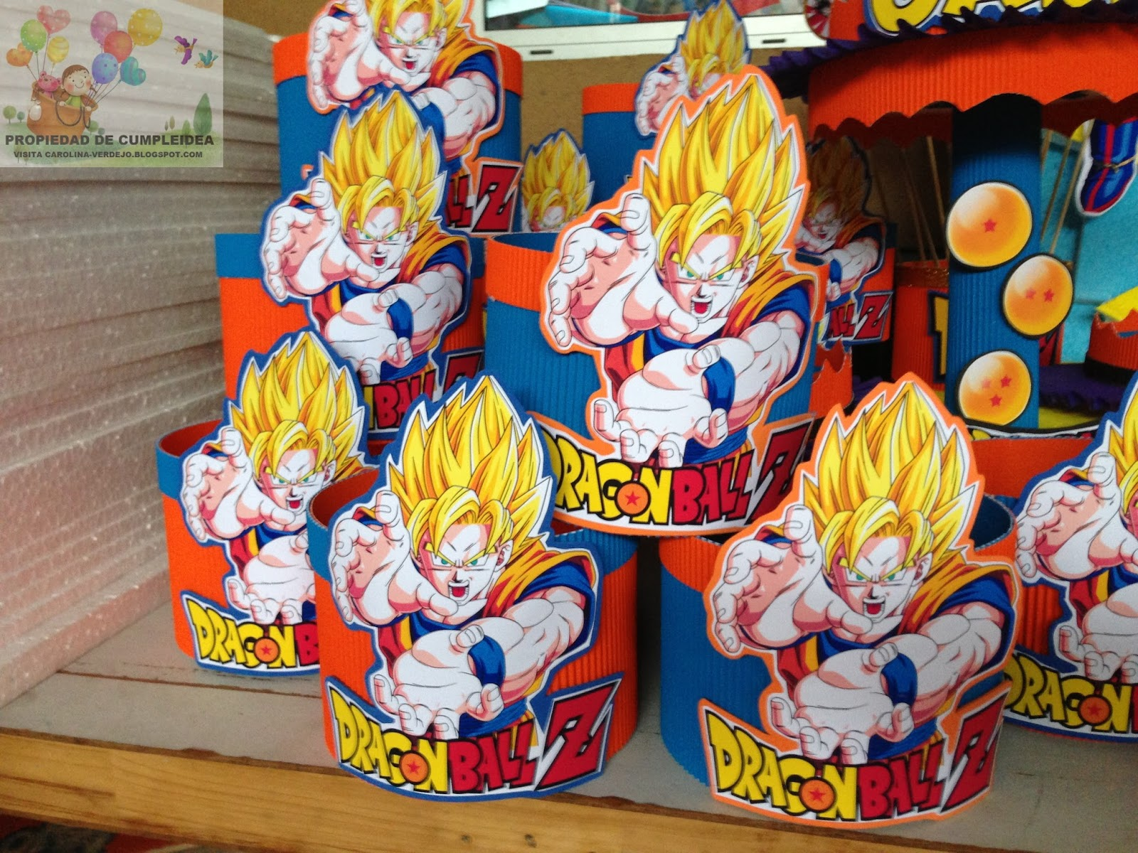 Dragon Decorations Ball Z Birthday