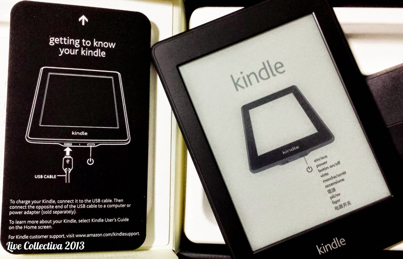 my adventure with the kindle paperwhite update the gal in the blue