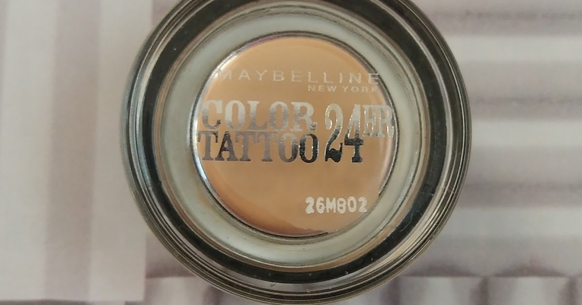 Little obsessions maybelline color tattoo creamy mattes for Maybelline color tattoo creme de nude