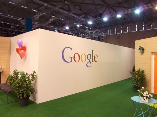 dmexco 2014: Der Google-Stand.