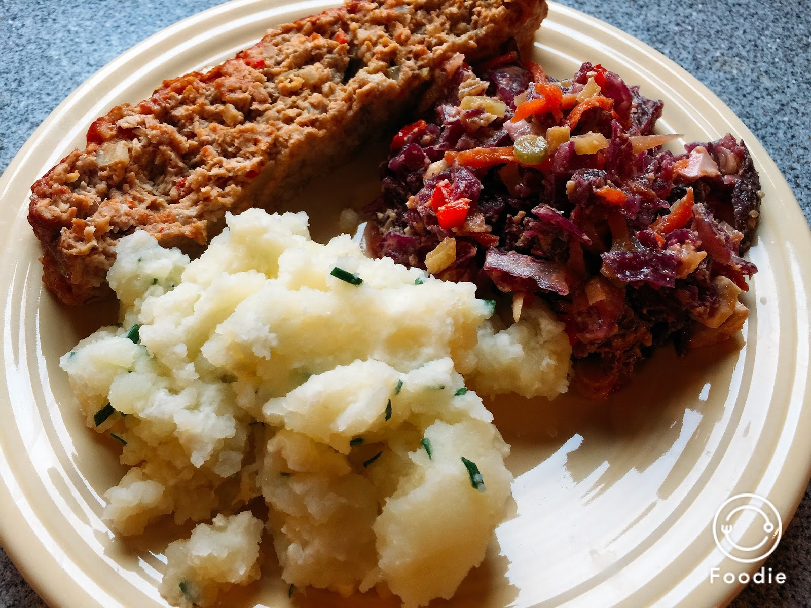 ... From Alice's Kitchen: Smashed Potatoes with Sour Cream and Chives