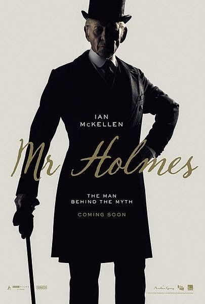 Ian McKellen aged elderly Sherlock Holmes 2015 movie Mr Holmes wallpaper image screenshot picture