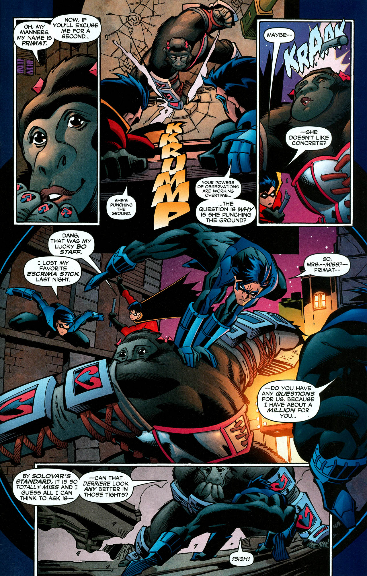 Read online Trinity (2008) comic -  Issue #10 - 23