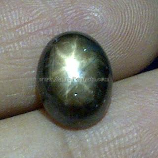 Batu Permata Black Safir Star - ZP 859