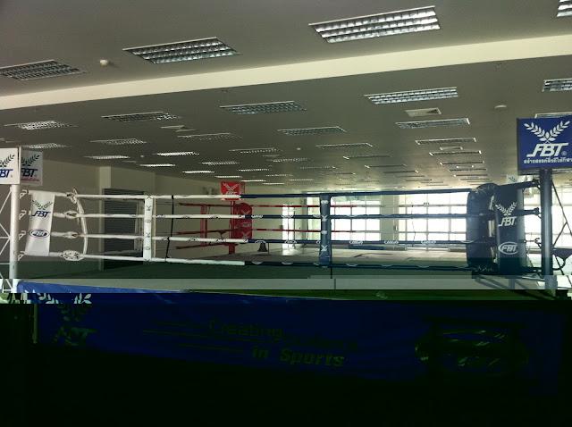 Ring de Muay Thai