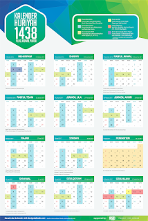 Download Kalender Islam 1438 Hijriyah