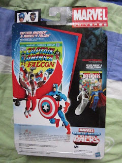 Marvel Universe Legends comic packs greatest battles Avengers Captain America Falcon Redwing SHIELD movie comic 171