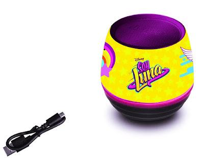 TOYS : JUGUETES - DISNEY Soy Luna  Altavoz Bluetooth | Lexibook  Serie Television Disney Channel 2016  Comprar en Amazon España