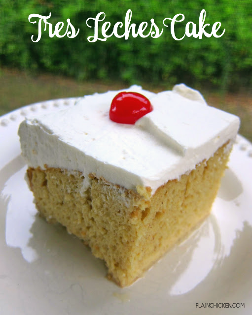 tres leches cake - droolworthy