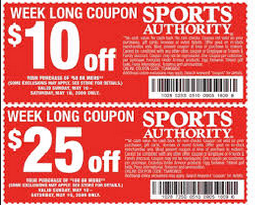 photo relating to Sport Authority Printable Coupon named Athletics authority on the net coupon codes august 2018 / Wcco eating