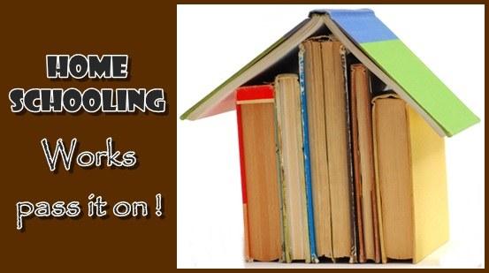 Gambar rumah belajar atau home schooling yang kreatif dan inovatif