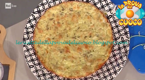 Rösti golosi di patate e formaggio con panna acida ricetta Mainardi da Prova del Cuoco